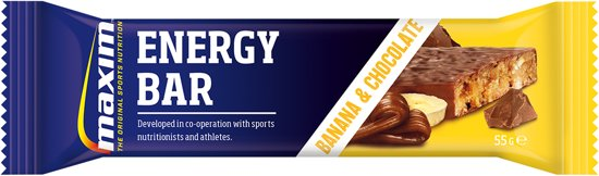 Maxim Energy Bar Banana/Chocolate 55g 10 Pack