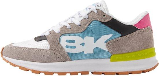 Maat 37 LaagLicht Impact British Dames Grijs Knights Sneakers sxdtQCrh