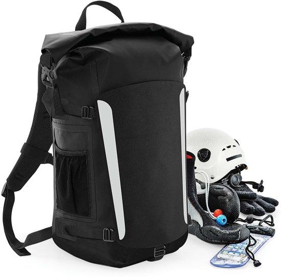 Waterproof backpack rugzak zwart
