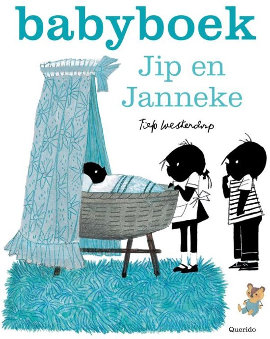 Babyboek Jip en Janneke blauw Jip en Janneke babyboek