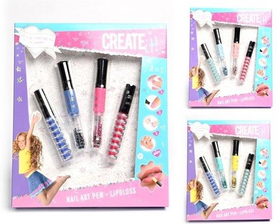 Create It Nail Art & Lipgloss