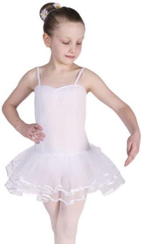 Balletpakje Wit - Maat 128-134