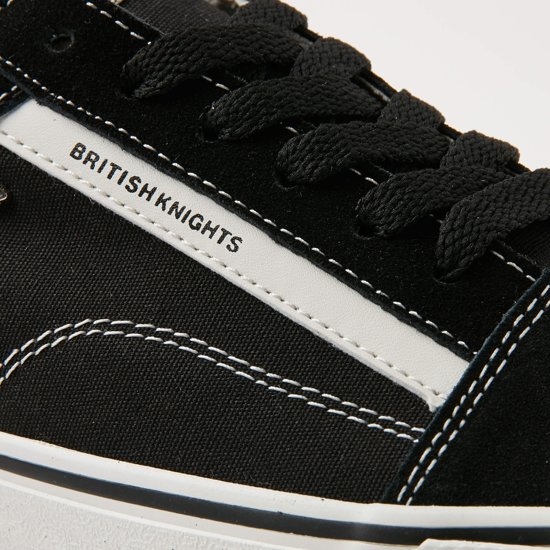 LaagZwart 43 Mack British Heren Maat Knights Sneakers 6bIYfgv7y