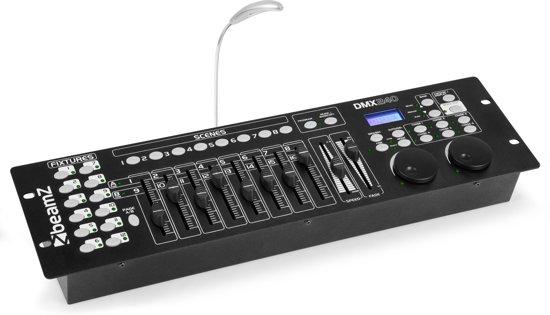 BeamZ DMX240 - 192 kanaals DMX controller voor 12 lichteffecten
