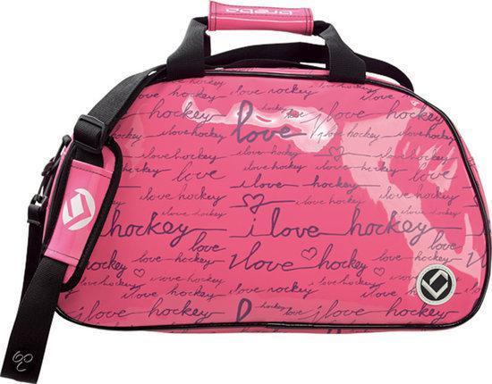 d6f6170f046 bol.com | Brabo SR Shoulderbag I Love Hockey Roze/Paars