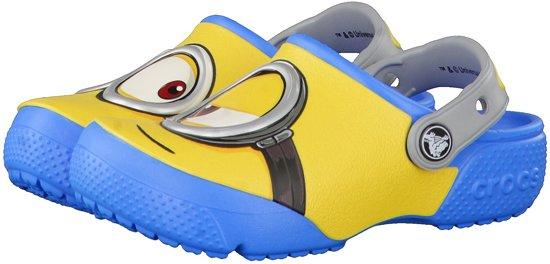 Crocs - Funlab Despicalbe Me 3 - Sportieve slippers - Jongens - Maat 24 - Geel - 456 -Clog Ocean