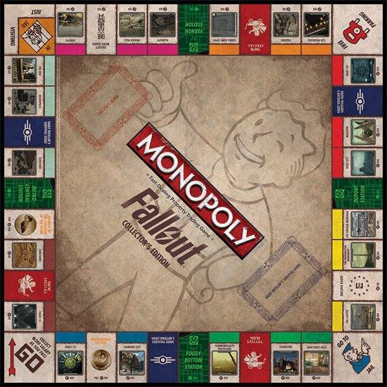 Monopoly Fallout - Bordspel