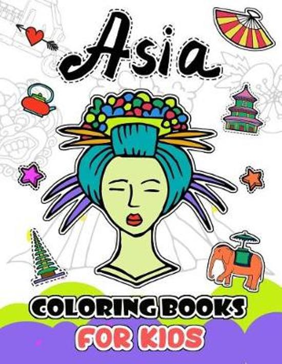 Asia Coloring Books for Kids