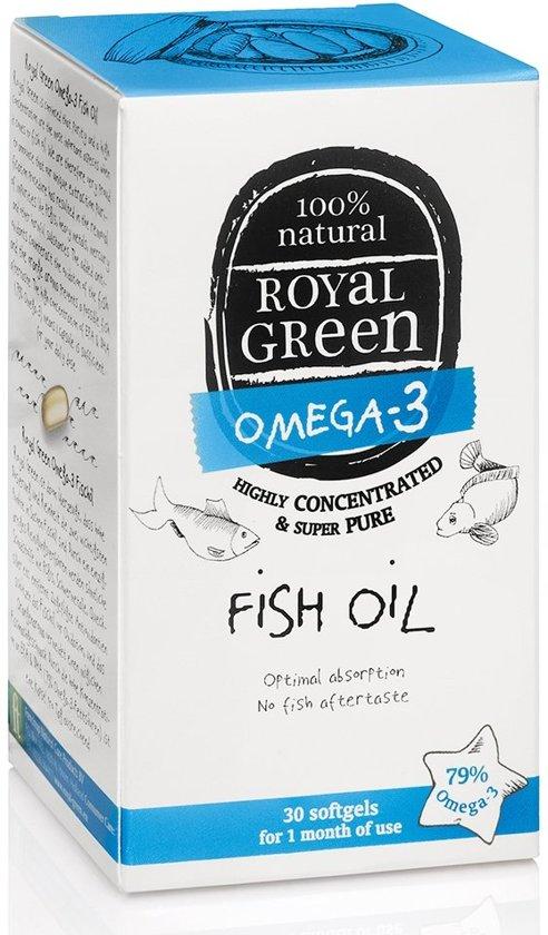 Royal Green - Omega 3 Visolie - 60 softgels
