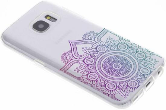 Multicolore Conception Mandala Cas De Tpu Pour Samsung Galaxy S7 7LmPSbJzD