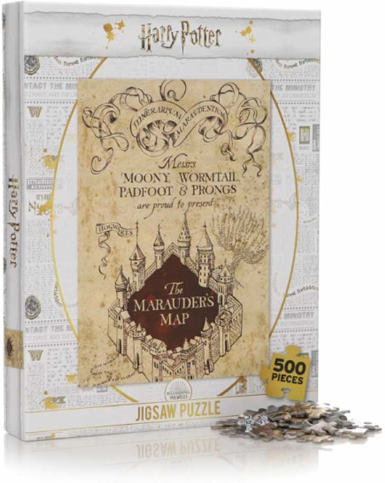 Harry Potter The Marauders Map - Puzzel