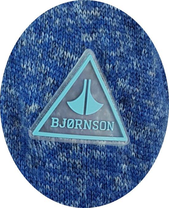 Maat 52 Brigitta Dames Bjornson Gebreid Vest Blauw 6CIHq