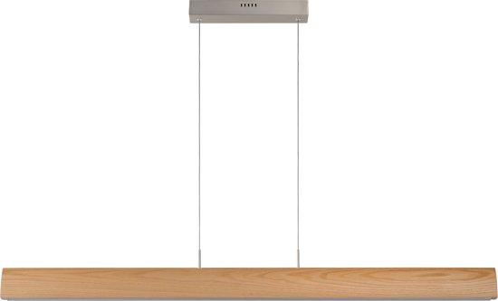 Lucide SYTZE - Hanglamp - LED Dimb. - 1x32W 3000K - Licht hout