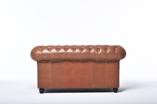 Chesterfield Original Brighton 2-zits Vintage Mokka