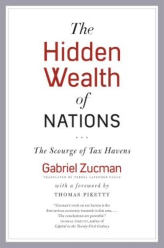 Bolcom The Hidden Wealth Of Nations Gabriel Zucman