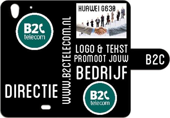Telefoonhoesje met bedrijfslogo & tekst ontwerpen Huawei G630 in Thommen