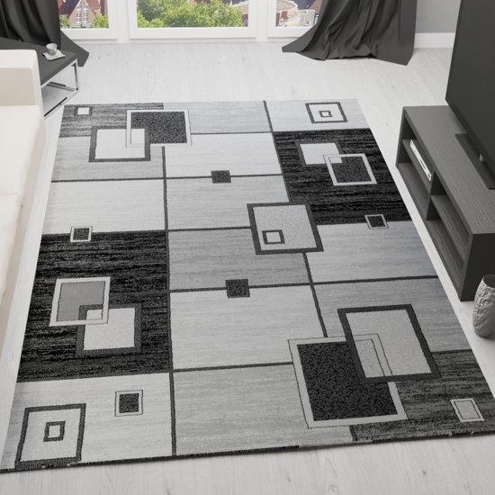 Vloerkleed - 2500 gr per m² - Tibet - Grijs - 5082 - 120x170 cm