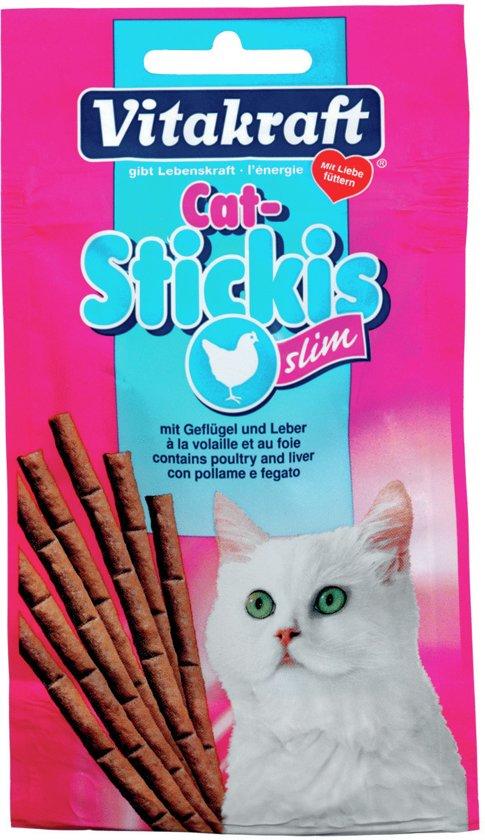 Vitakraft Cat-Stickis Slim 25 g Gevogelte&Lever