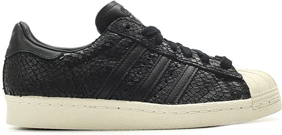 | Adidas Sneakers Superstar 80's Dames Zwart Maat 38 23