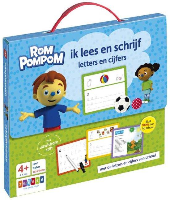 Afbeelding van Rompompom - Rompompom ik lees en schrijf speelgoed