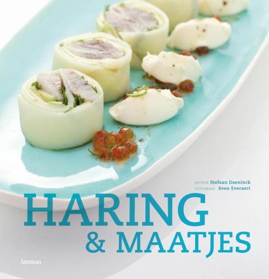 Cover van het boek 'Haring & maatjes' van Stefaan Daeninck