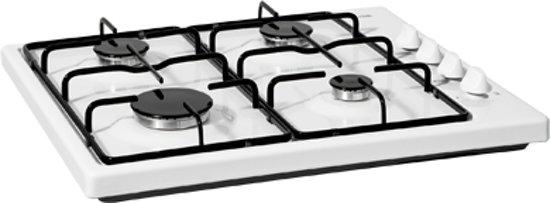 Etna KGV158WIT - Kookplaat - Gas - Vrijstaand