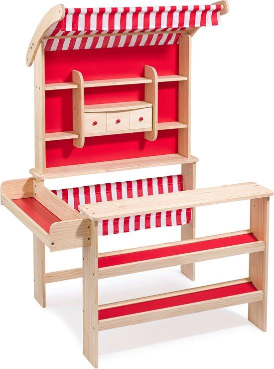 """howa houten speelgoed winkeltje """"Robin"""" met luifel 47463"""