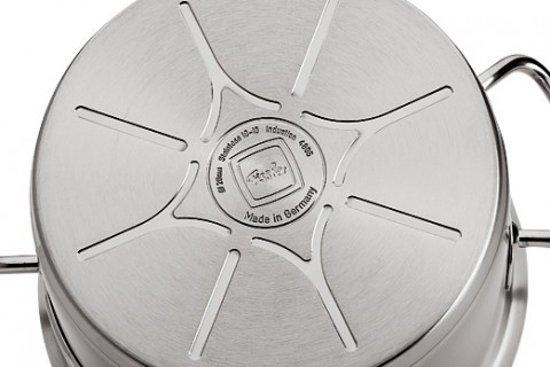 Fissler original profi collection steelpan met rvs deksel, 20cm