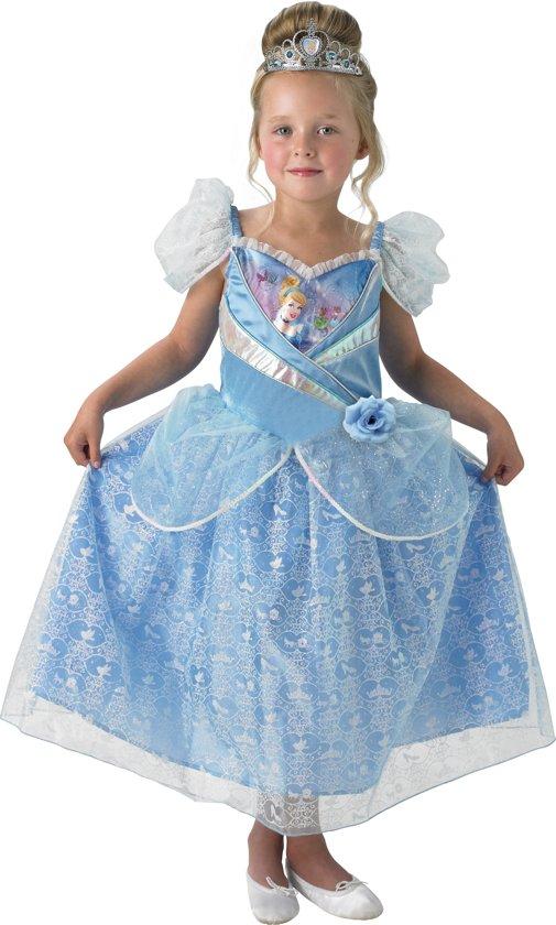 Verrassend bol.com | Disney Prinsessenjurk Assepoester Shimmer - Kostuum Kind SO-89