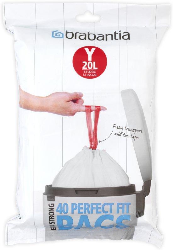 Brabantia Perfectfit Code Y - 20 Liter (40 stuks)