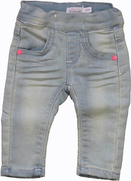 baby jeans maat 56
