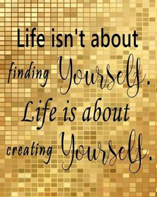 Bol Com Life Isn T About Finding Yourself Life Is About Creating