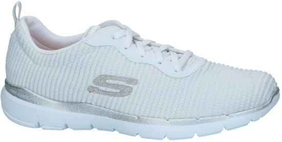 Witte Sneakers Skechers  Dames 35