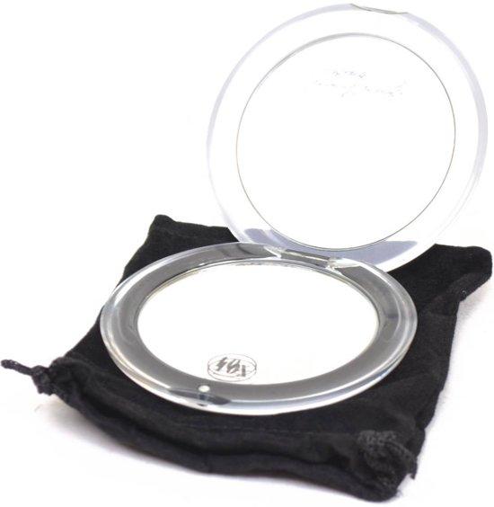 Make-up Tasspiegel acryl Ø8,5 cm/10x vergroting