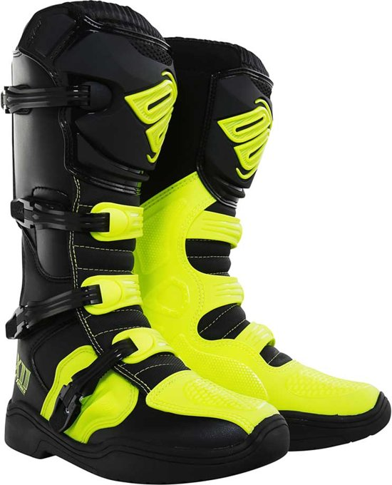 Shot Crosslaarzen X11 Neon Yellow-41 (EU)