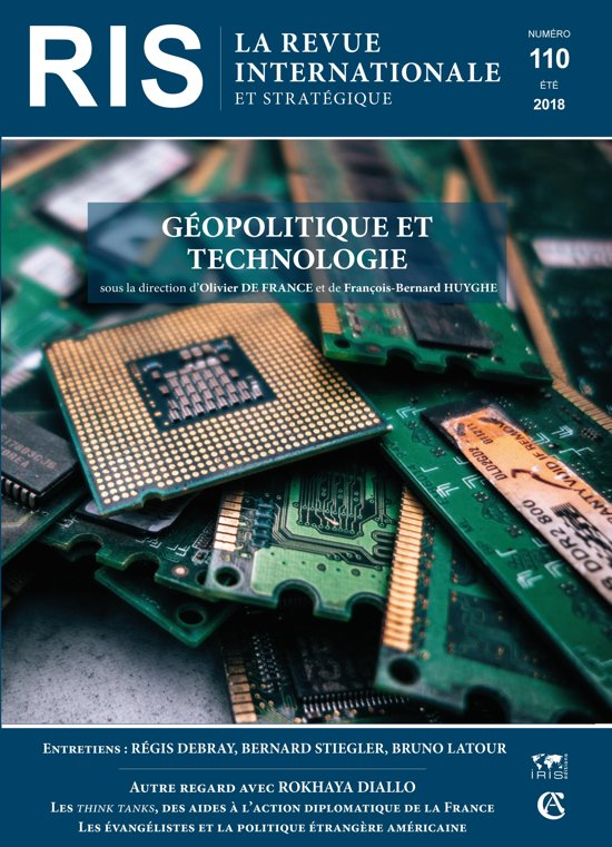 Boek cover Géopolitique et technologie van François-Bernard Huyghe (Onbekend)