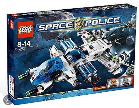 LEGO Space Police Intergalactische Jager - 5974