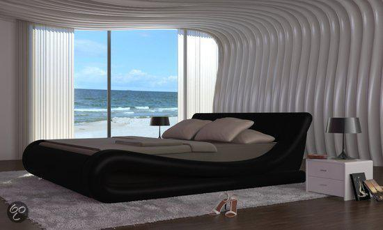 Tweepersoonsbed Inclusief Matras : Bol vidaxl bed imitatielederen bed inclusief matras x