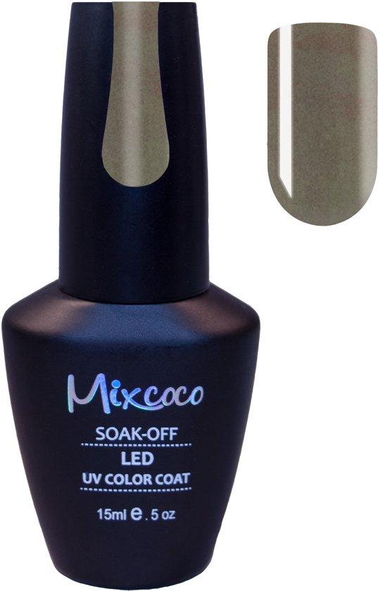 Gellak Mixcoco # 131 Glamour Gray - Gel nagellak