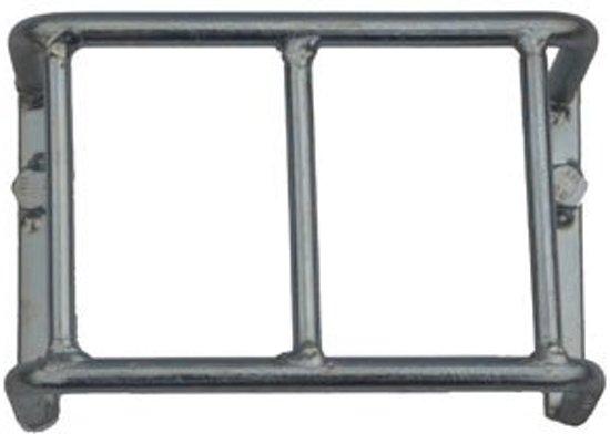 Beschermrek achterlicht staal 80x140x108 mm