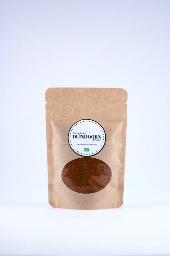 Biologische duindoornbessen poeder 50 gram