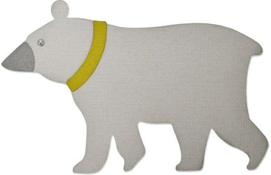 Sizzix BigZ by Craft Asylum, Strolling Bear