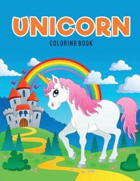 Bol Com Unicorn Coloring Book Coloring Pages For Kids