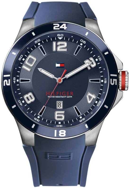 Tommy Hilfiger Blake TH1790862 - Horloge - Blauw - 45 mm - 5 ATM