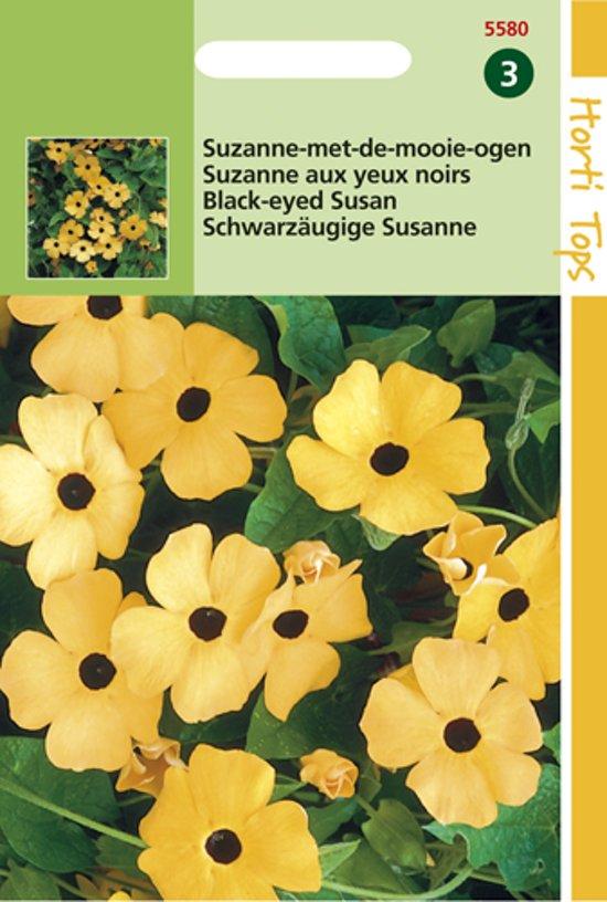 Hortitops Zaden - Suzanne-Met-De-Mooie-Ogen (Thunbergia Alata)