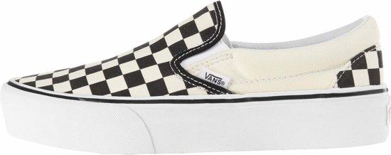 Wit Sneakers Classic On Vans Slip Dames Platform 38 Maat Y5wWq1Z