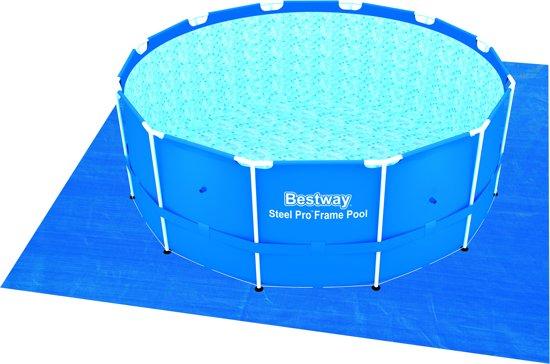 Bestway Grondzeil 396 cm voor zwembad 366cm