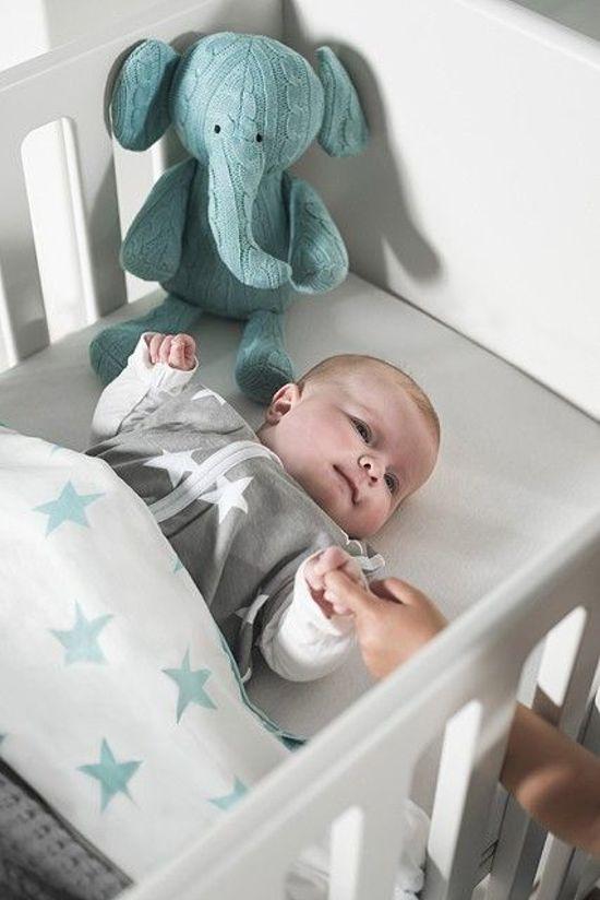 Jollein Little Star - Babyslaapzak Jersey Zomer - 90 cm - Grijs