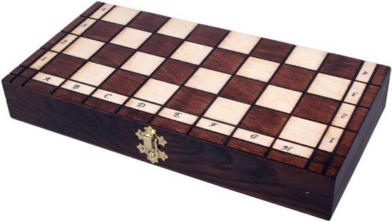 Sunrise Royal maxi - Schaakspel  schaakbord (Hout)