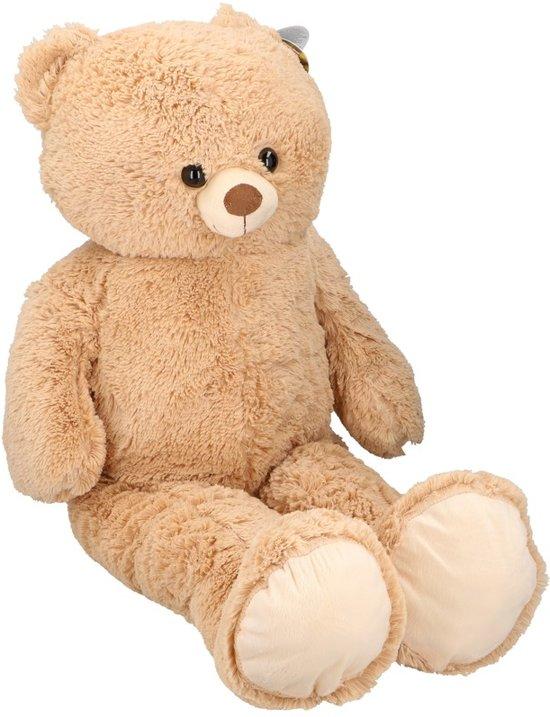 3042033a64ba46 bol.com | Grote pluche beer/beren knuffel 100cm, Merkloos | Speelgoed